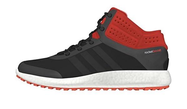 Climaheat Rocket Boost Mid Cut Chaussures Mode Sneakers Homme Noir Orange