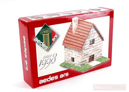 Aedes Ars ADS1998M Petit Chalet mm 110x70x80 PCS 220 MONTATO MODELLINO DIE CAST kompatibel mit