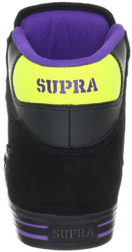 Supra VAIDER S28133, Baskets mode mixte adulte Noir (Schwarz)