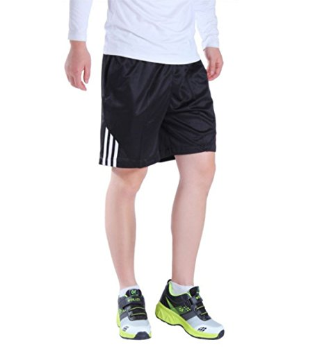 Men's High Quality Fitness Running Shorts white