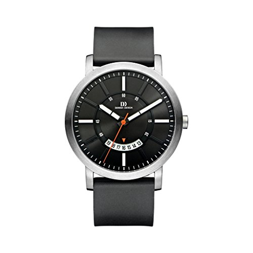 Danish Design Unisex Analogue Quartz Watch with Rubber Strap IQ13Q1046