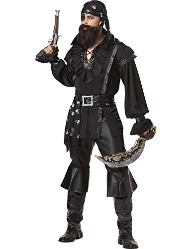 Men's Plundering Pirate Costume For Adults All Sizes