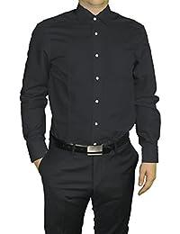 Redmond - Body Cut - Bügelfreies Herren Langarm Hemd in verschiedenen Farben (150110)