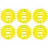 Wandaufkleber Schaufensterdekoration förderung Aufkleber für Glas Wandaufkleber Sommer Winter Ausverkauf Deko ( Yellow)