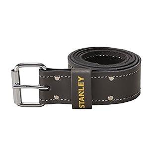 STANLEY STST1-80119 Leather Belt - Dark Brown