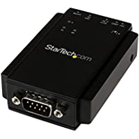 StarTech NETRS232 Convertitore Seriale / Ethernet IP a 1 porta - RS 232 Serial Device Server - Montabile a parete/DIN