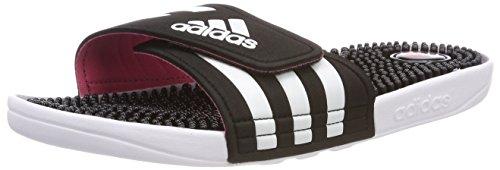 adidas Damen Adissage W Dusch-& Badeschuhe, Schwarz (Core Black/Footwear White/Super Pink 0), 38 EU