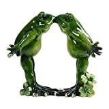 Kitabetty Décoration De Grenouille De Yoga, Résine Yoga Grenouille Figurine Nordic Jardin Artisanat Décorations Porche Magasin Animal Ornements Intégrité Morale Grenouille Verte Pour Home Office Decor...