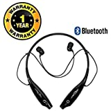 #7: Delhitraderss Gionee Phone's Compatible HBS-730 Neckband Wireless Bluetooth Waterproof Attractive Headphone with Built-in Microphone