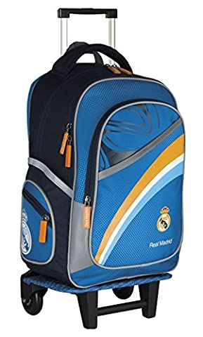 REAL MADRID GRAND SAC A ROULETTE TROLLEY SAC A DOS