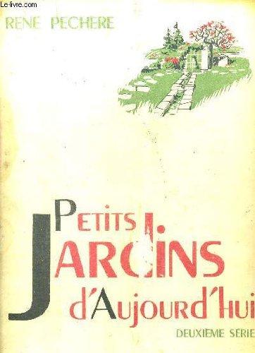 PETITS JARDINS D'AUJOURD'HUI - 2EME SERIE - 48 PLANCHES EN NOIR ET BLANC.