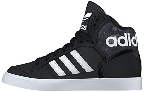 adidas Damen Extaball W Turnschuhe, Black (Negbas / Ftwbla / Grau), 38 2/3 EU