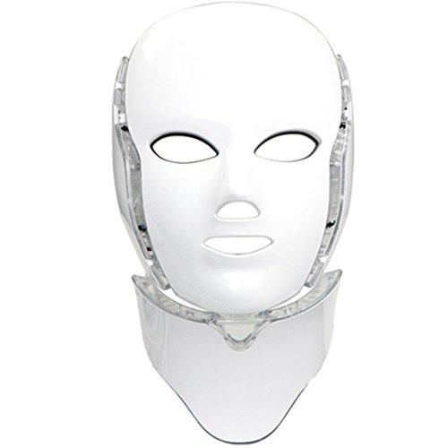 Home Care Wholesale® Masque de Luminothérapie LED Photon 7 Couleurs avec...