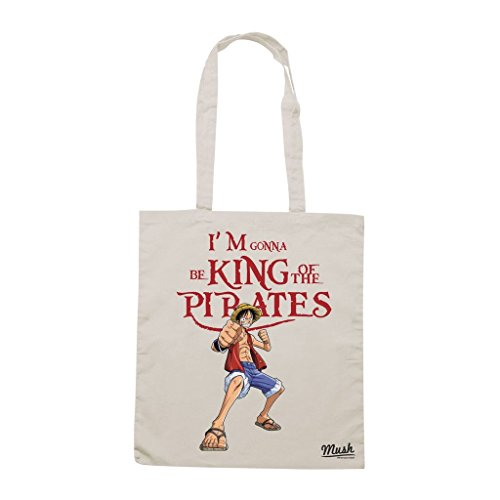 Borsa I'M Gonna Be King Of The Pirates One Piece - Panna - Cartoon by Mush Dress Your Style