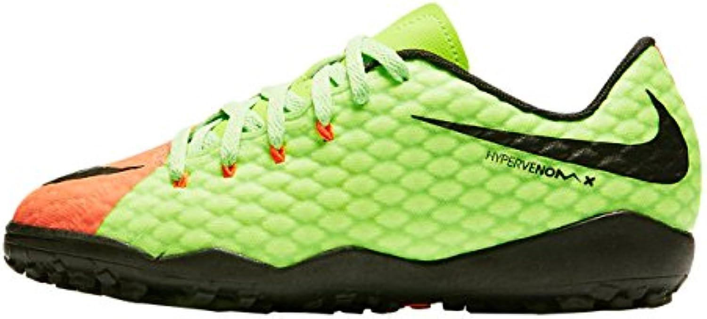 Nike Jr Hypervenomx Phelon Iii Tf   electric green/black hyper ora