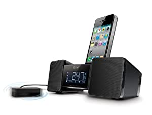 iLuv Vibro II Speaker and Docking Station with Bed Shaker and Dual Alarm Clock for Apple iPhone 3/4/4S and iPod