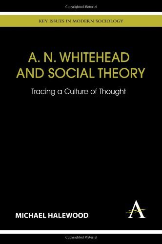 A. N. Whitehead and Social Theory: Tracing a Culture of Thought (Key Issues in Modern Sociology) by Michael Halewood (2011-09-01)