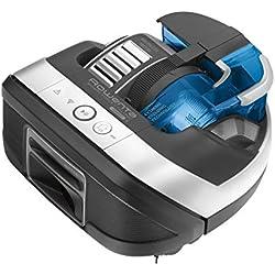 Rowenta Smart Force Cyclonic RR8021WH - Robot aspirador ciclónico alto rendimiento en todo tipo de suelos con navegación inteligente, cámara láser, cepillo motorizado y conectividad para smartphones