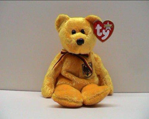 TY * Beanie Baby * Prinz von Gold * TEDDY / BÄR * Plüschtier ca. 21 cm * # 4613 (Beanie Bär Baby Ty)