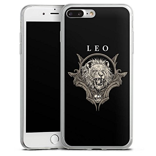 Apple iPhone X Slim Case Silikon Hülle Schutzhülle Löwe Sternzeichen Astrologie Silikon Slim Case transparent