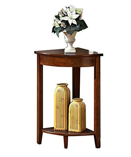 ... Regale Massivholz Wohnzimmer Schlafzimmer Eckrahmen Blumengestelle 2  Farben Erhältlich ( Farbe : A , Größe :
