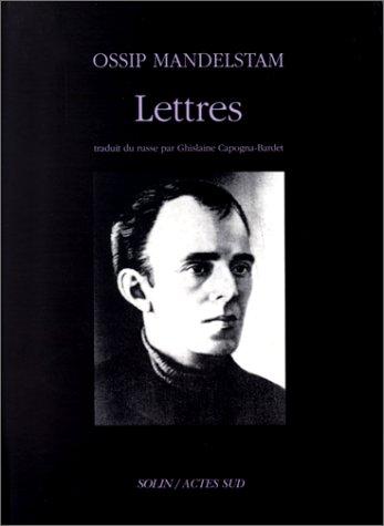Lettres par Ossip Mandelstam