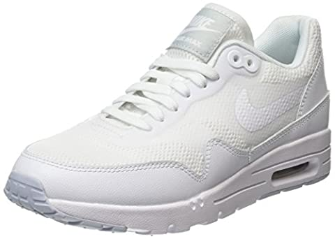 Nike Air Max 1 Ultra Essential, Chaussures de Running Entrainement Femme, Blanc (White), 36 EU