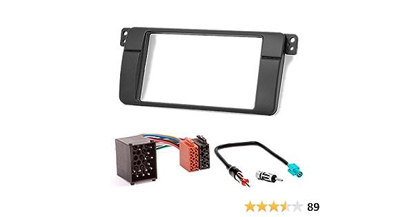 Carav 10 498 3 67 Doppel Din Autoradio Radioblende Einbauset Dvd Dash Installation Kit Für 3er
