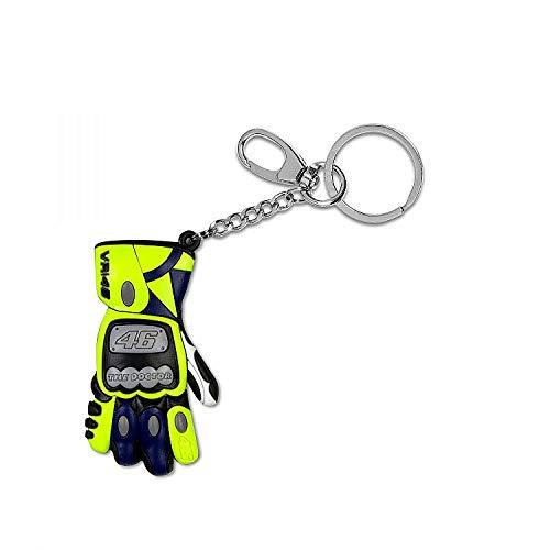 Valentino Rossi Vr46 Classic-Accessories, Portachiavi Unisex Adulto, Multicolore, 4,5x2cm