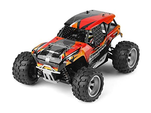 RC Monster Truck 1:18 - Potent 4WD Energy 2.4GHz 25 kmh (Schwarz-Rot-Orange) (MH343259) (Monster Trucks Monster Energy)