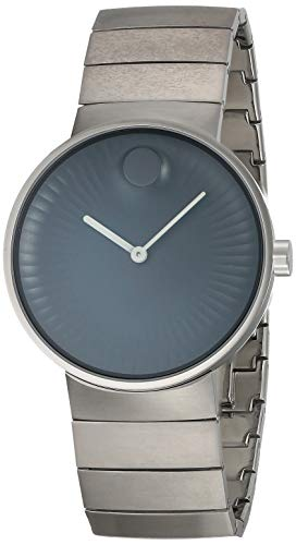 Movado Edge Stainless Steel Mens Watch 3680006