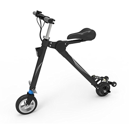 E-Scooter Switch 25 km/h Leistungstarker Elektroroller E-Roller Elektro Roller 250 Watt Faltbarer, klappbar, Schwarz