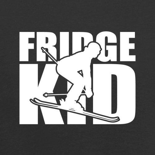 Fridge Kids Ski - Herren T-Shirt - 13 Farben Schwarz