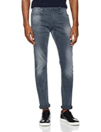 Scotch & Soda Nos Ralston-Concrete Bleach, Rectos (Pierna Recta) para Hombre
