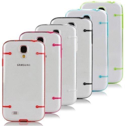 6-PC Gestellfassung Bumper Ultra Crystal Clear stark Fall-Abdeckung Hardshell f¨¹r Samsung Galaxy S4 Galaxy I9500 SIV -