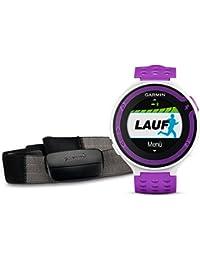 Garmin Forerunner 220 HRM - Reloj de carrera con GPS y monitor de frecuencia cardiaca, color morado