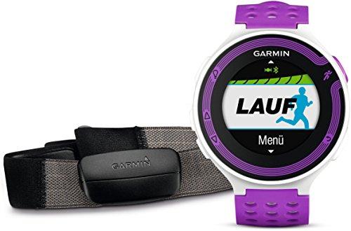 Garmin Forerunner 220 HRM - Reloj de carrera con GPS y monitor de frecuencia cardiaca
