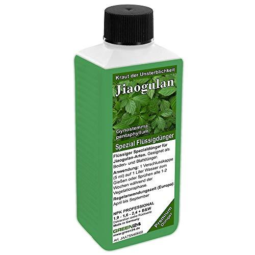GREEN24 Jiaogulan-Dünger NPK Voll-Dünger für Kraut der Unsterblichkeit, Gynostemma pentaphyllum Pflanzen in Haus & Garten düngen
