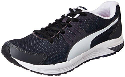 Puma Men's Ultron IDP Asphalt-Black-Puma White Running Shoes - 8 UK/India (42 EU)