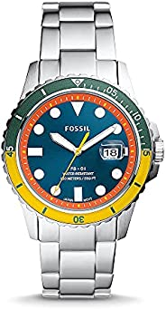 FOSSIL MENS FB - 01 STAINLESS STEEL WATCH - FS5765