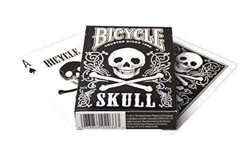 Bicycle Skull Playing Cards Carte da gioco Bicicletta cranio