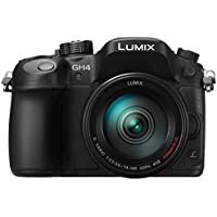Panasonic Lumix DMC-GH4R + H-FS14140 Körper Systemkamera 16.05 MP Live MOS 4608 X 3456pixel schwarz – Digitalkamera (16,05 MP, 4608 x 3456 Pixel, Live MOS, 4 K Ultra HD, Touchscreen, Schwarz)