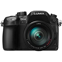 Panasonic Lumix DMC-GH4RHEGK Kit Fotocamera Mirrorless 16MP con Obiettivo 14-140mm, Post Focus, 4K Photo & 4K Video, Nero