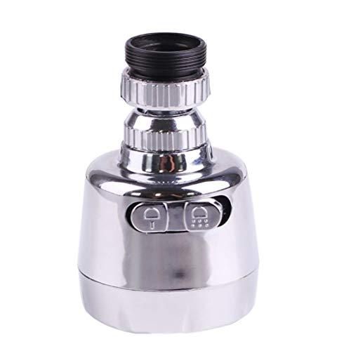 Gaddrt 2pcs Wasserhahn Sieb Schwenkbar Schlussel Flexible Wasserhahn Sprayer Kopf Turbo Flex 360 Waschbecken Wasserhahn Sprayer Jet