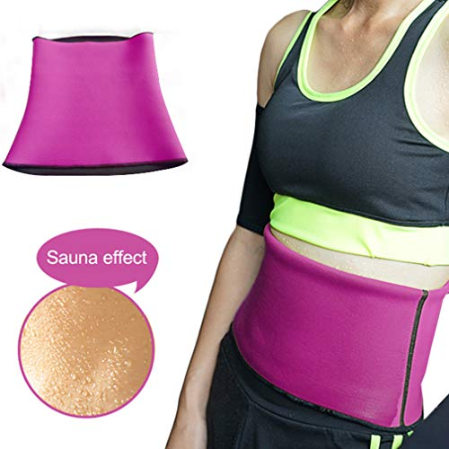 Fitnessgürtel Slimmer Belt Einstellbar Gürtel Neopren Abnehmen Korsett -