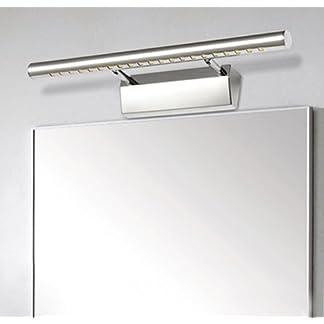 Unicoco 5050 SMD – Lámpara de pared para espejo de baño (luz blanca fría)