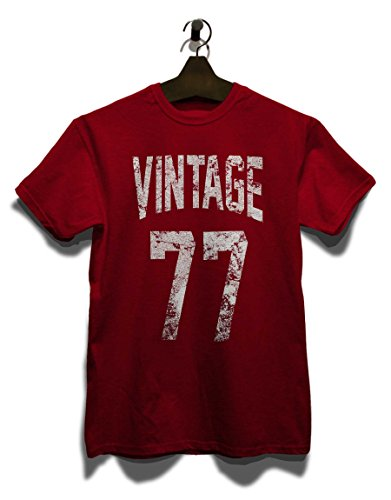Vintage 1977 T-Shirt Bordeaux