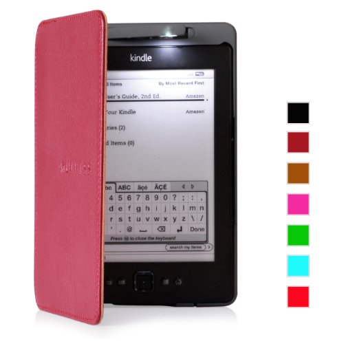 mulbessr-amazon-kindle-4-custodia-in-vera-pelle-con-luce-per-kindle-4-colore-borgogna