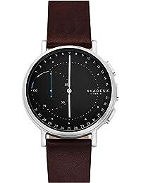 Skagen Damen-Armbanduhr Analog One Size, braun, schwarz