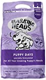 Barking Heads Dry Dog Food for Puppies - Puppy Days - 100% Natural Chicken and Salmon, Grain-Free with No Artificial Flavours, Good for Strong Teeth and Bones, 2 kg